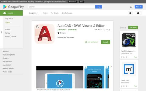 AutoCAD - DWG Viewer & Editor - Apps on Google Play