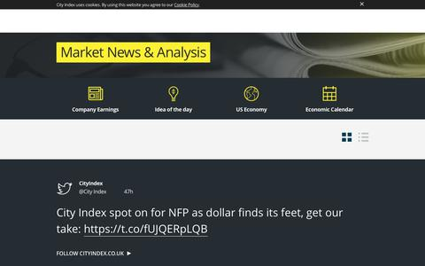 Financial Trading Market News | Economic Indicators | Forex News | City Index UK