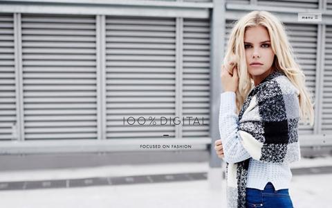 Screenshot of Home Page 100-digital.com - ECOMMERCE FASHION & PRODUCT PHOTOGRAPHY   100% Digital - Fashion Photography London - captured Feb. 13, 2016