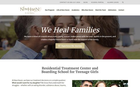 Residential Treatment Center for Teen Girls (Ages 12-17) | New Haven