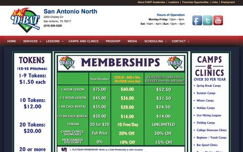 Screenshot of Pricing Page dbatsan.com - PRICING - captured Oct. 3, 2014
