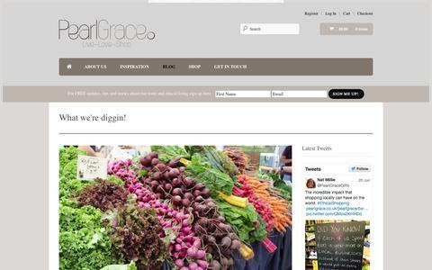 Screenshot of Blog pearlgrace.co.uk - Blog - Pearl Grace: Live ~ Love ~ Shop - captured July 19, 2015