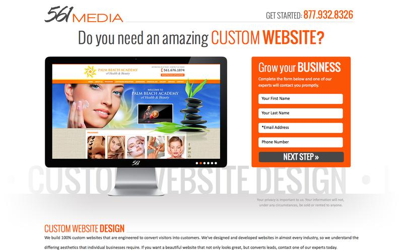 561 Media Custom Website