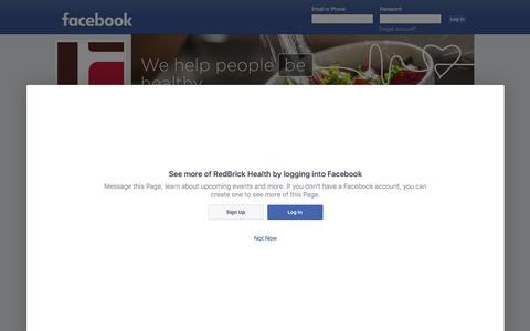 RedBrick Health   Facebook