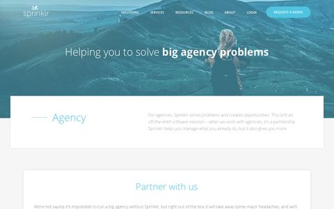 Marketing Agency Solutions: Social Media Management Software: Agency