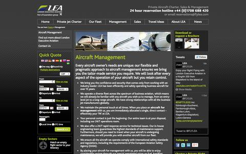 Screenshot of Team Page flylea.com - Aircraft Management, Aircraft Charter Services - Aircraft Hire | Fly Lea - captured Oct. 3, 2014