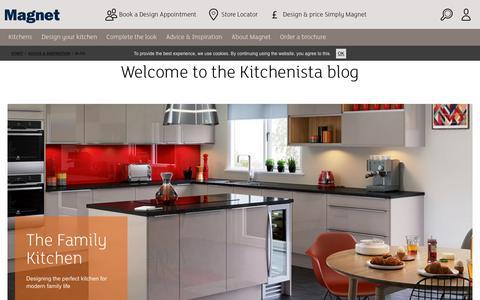 Screenshot of Blog magnet.co.uk - Our Blog | Magnet - captured June 20, 2017