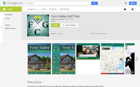 Screenshot of Android App Page google.com - Fynn Valley Golf Club - Android Apps on Google Play - captured Oct. 25, 2014