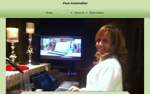 Screenshot of Contact Page vsys.us - Vsys Automation - Contact Us - captured Feb. 14, 2016