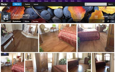 Screenshot of Flickr Page flickr.com - Flickr: Albuquerque Carpet Source USA's Photostream - captured Oct. 23, 2014