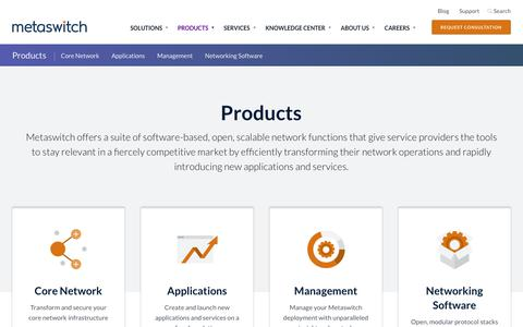 Metaswitch Products