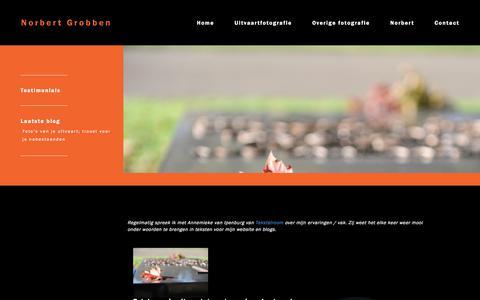 Screenshot of Blog norbertgrobben.nl - Blog - Norbert Grobben - captured Nov. 8, 2017