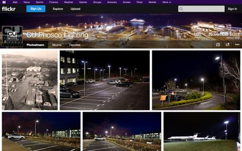 Screenshot of Flickr Page flickr.com - Flickr: CU Phosco Lighting's Photostream - captured Oct. 22, 2014