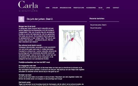 Screenshot of Blog carlacouture.nl - Blog - carlacouture - captured Sept. 29, 2014