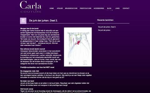 Screenshot of Blog carlacouture.nl - Blog - carlacouture - captured Sept. 29, 2014