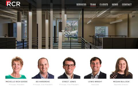 Screenshot of Team Page richcommercialrealty.com - Team – Rich Commercial Realty - captured Oct. 18, 2018