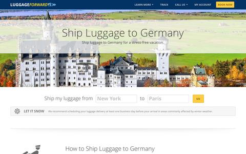 Ship Luggage to Germany | Shipping Luggage to Germany
