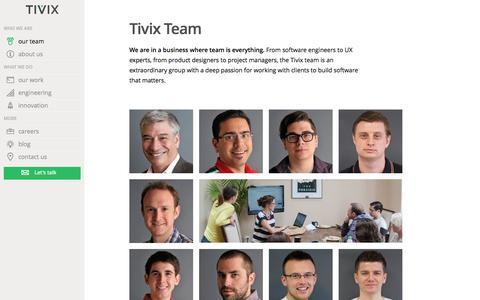 Team Members   Tivix