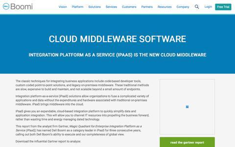 Cloud Middleware Software - Dell Boomi
