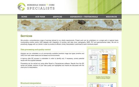 Screenshot of Services Page bhics.co.uk - Services | BHICS - captured Oct. 1, 2014