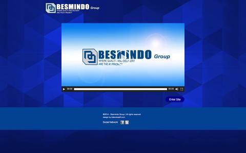 Screenshot of Home Page besmindo.com - Besmindo Group: Where quality and delivery are the #1 priority - captured Jan. 23, 2016