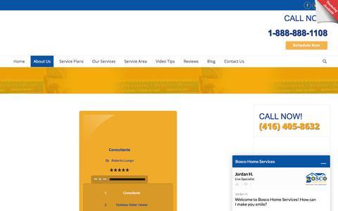 Screenshot of Press Page mybosco.com - Bosco Home Services - Media Page - Mississauga, ON - captured Nov. 22, 2017