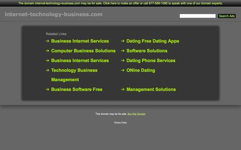 Screenshot of Home Page internet-technology-business.com - Internet-Technology-Business.com - captured March 17, 2016