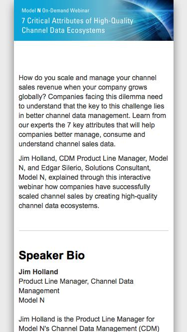 [On-Demand Webinar] 7 Critical Attributes of High-Quality Channel Data Ecosystems