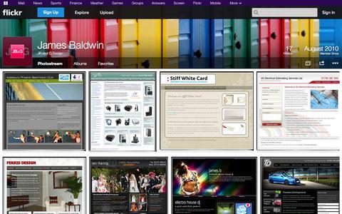 Screenshot of Flickr Page flickr.com - Flickr: JB and G Design's Photostream - captured Oct. 22, 2014