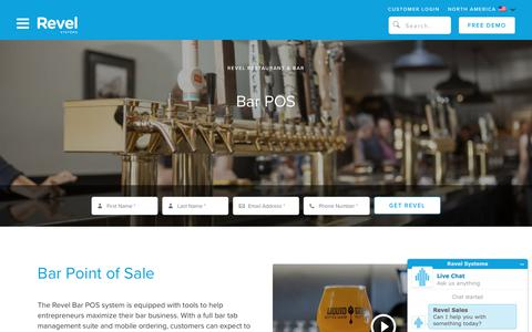 Bar POS System   Revel iPad Point of Sale for Bars