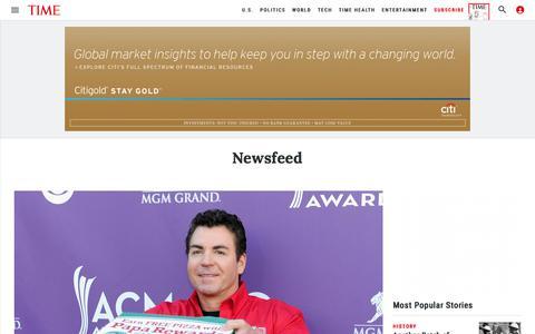 Newsfeed | Time
