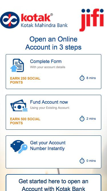Kotak - Online Account Opening Form