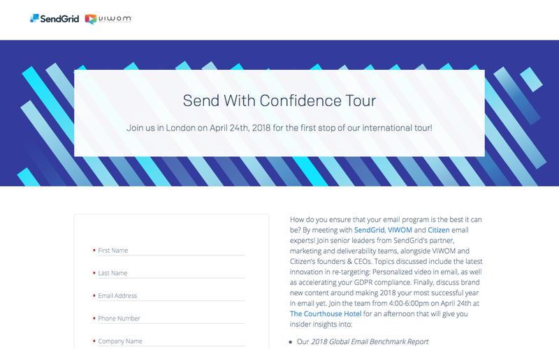 SendGrid - Send with Confidence London
