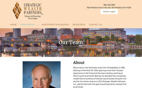 Screenshot of Team Page strategicwp.net - Asset Management Service NY   Strategic Wealth Partners, INC - captured Oct. 18, 2018