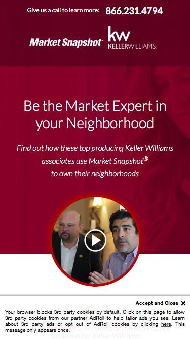 Market Snapshot® | Keller Williams | Be the Market Expert in your Neighborhood