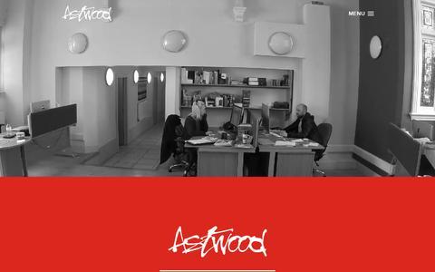 Screenshot of Home Page astwood.co.uk - Full service creative design agency – Warwickshire & Birmingham | Astwood Design - captured March 4, 2016