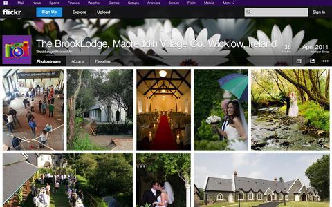 Screenshot of Flickr Page flickr.com - Flickr: BrookLodge@Macreddin's Photostream - captured Oct. 26, 2014