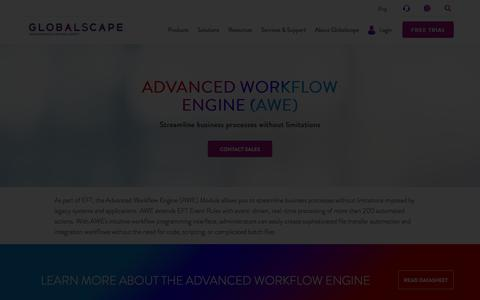 The Advanced Workflow Engine For EFT | Globalscape