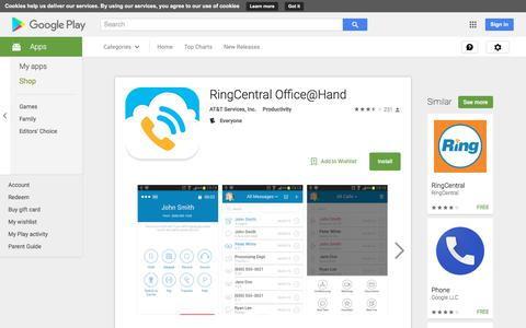 RingCentral Office@Hand - Android Apps on Google Play