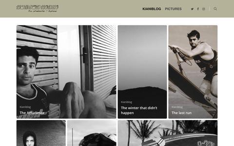 Screenshot of Press Page kiani.dk - KIANIBLOG - Kurosh Kiani - captured Oct. 15, 2018
