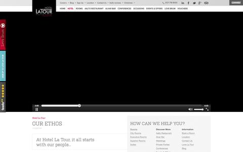 Screenshot of Team Page hotel-latour.co.uk - Hotel LaTour: Luxury Modern 4 Star Hotel, Located In The Heart Of Birmingham City Centre - captured Sept. 23, 2014