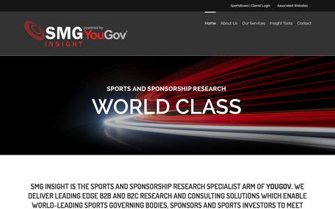 SMG Insight Đ Powered by YouGov | Sports and Sponsorship Research Specialists