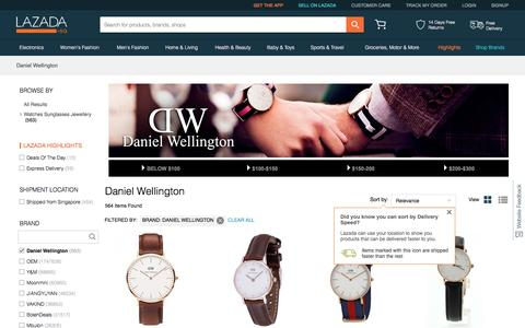 Buy Daniel Wellington Watches | Lazada Singapore