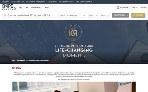 Screenshot of About Page era.com - KR Story - captured Dec. 29, 2018