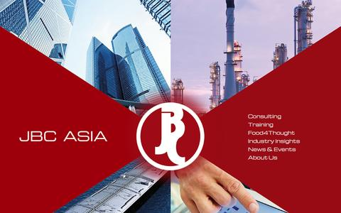 Screenshot of Home Page jbcasia.com - JBC Asia | The Oil & Gas Market's Consultants - captured Oct. 3, 2014