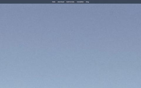 Screenshot of Home Page getfind.it - Find It - Remember where your things are - captured Oct. 6, 2014