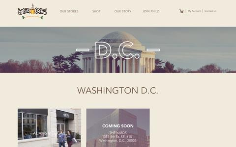 Find your Store in DC | Philz Coffee