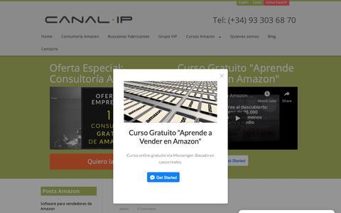 Screenshot of Blog canalip.com - Canal IP Blog - captured Nov. 4, 2018