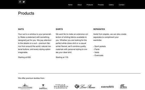 Screenshot of Pricing Page black-loom.com - Products - Black LoomBlack Loom - captured Oct. 27, 2014