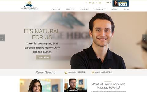 Massage Therapy Jobs   Massage Heights Careers